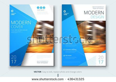 Cover Design Corporate Business Template Brochure Stock Vector ...