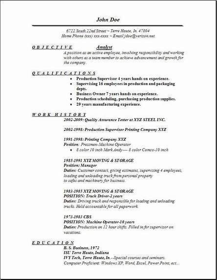 Analyst Resume, Occupational:examples,samples Free edit with word