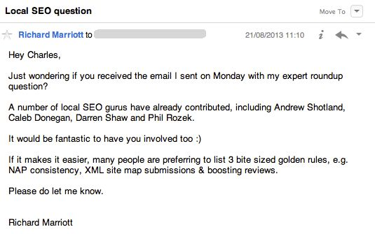 Follow-Up Email After Interview No Response richard marriott ...
