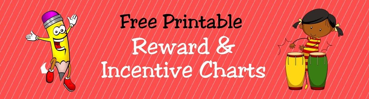 FREE Printable Reward & Incentive Charts for Kids | ACN Latitudes