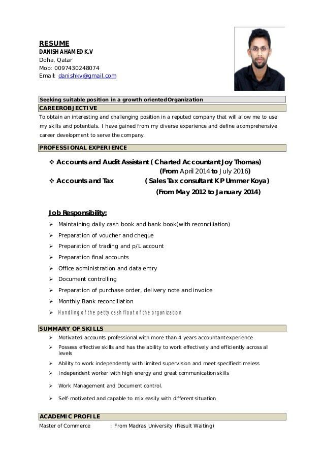 German Resume Example | Case Study Analysis Research