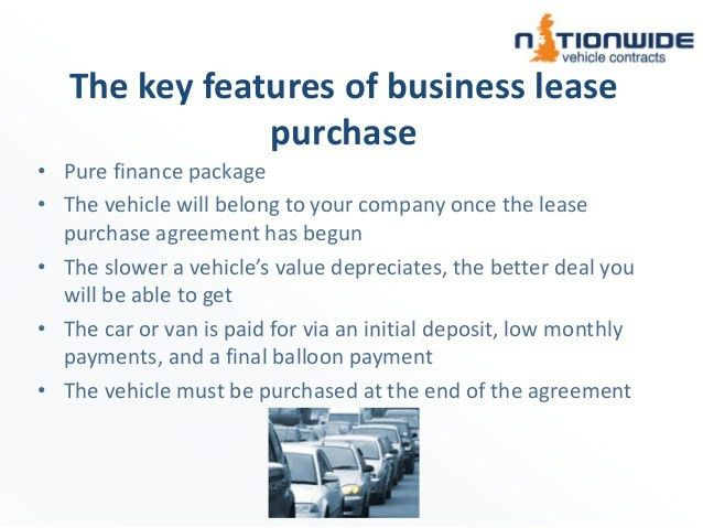 Lease Purchase Agreement. A Lease Option (More Formally Lease With ...