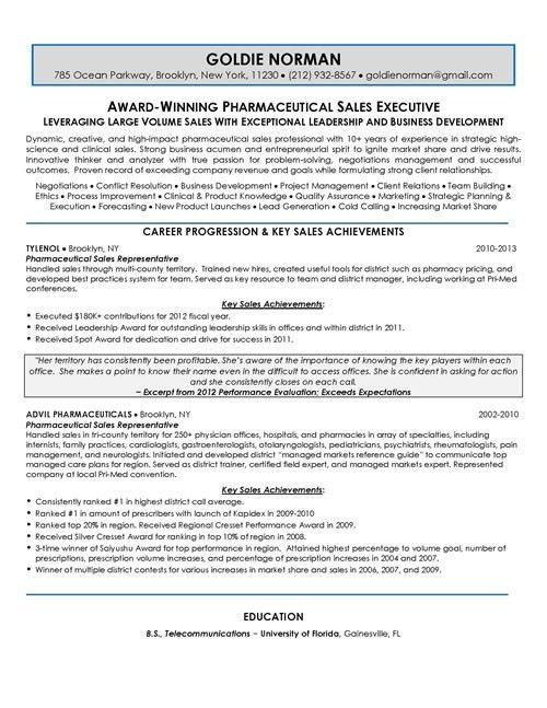 Executive Resume Samples   Top Resume Samples   Professional ...
