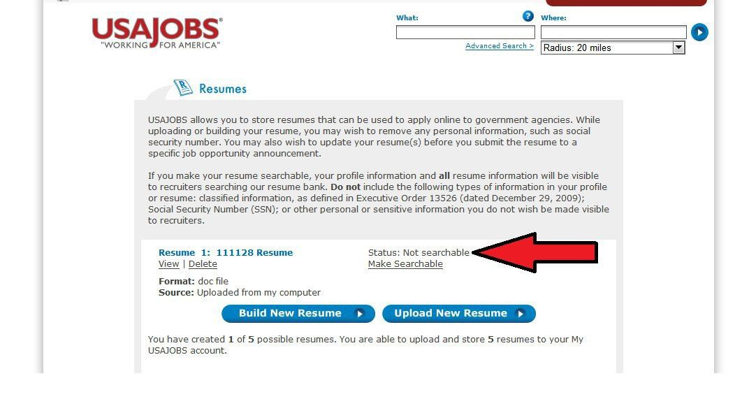 Did You Click It, or Forget It? What is Your Résumé Status on ...