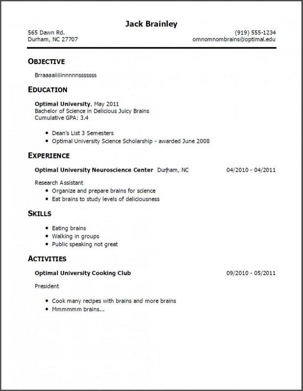 Making A Resume With No Experience | Samples Of Resumes