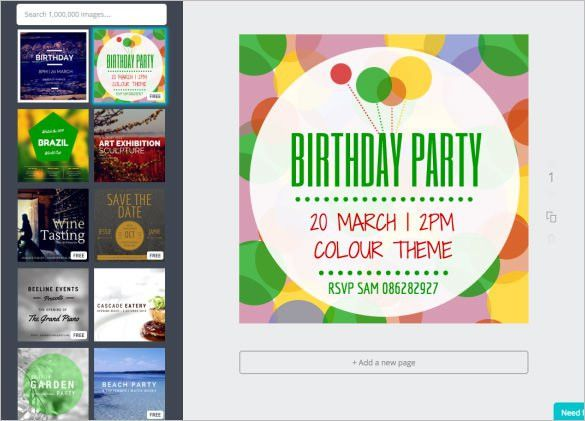 Invitation Template - 37+ Free Printable Word, PDF, PSD, Publisher ...