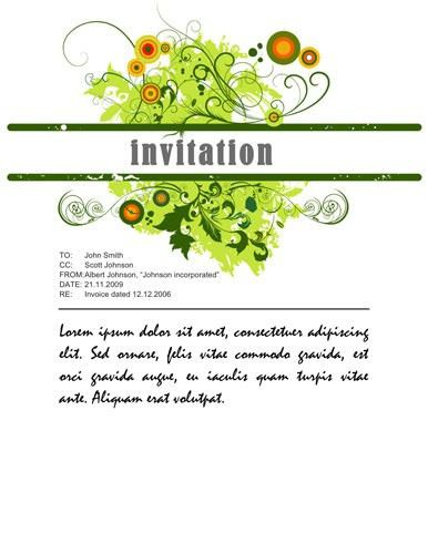 Party Invitation Template Word | christmanista.com