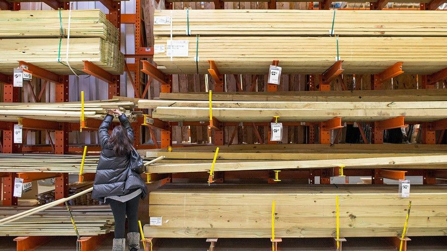 How trade jitters made lumber February's best-performing commodity ...