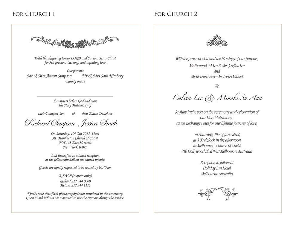 wedding invitations wording sample-3 | Projects to Try | Pinterest ...