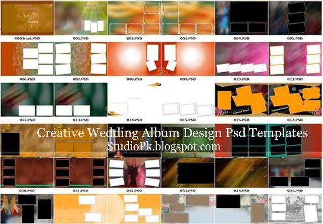 50 Creative Wedding Album Design Psd Templates | StudioPk ...