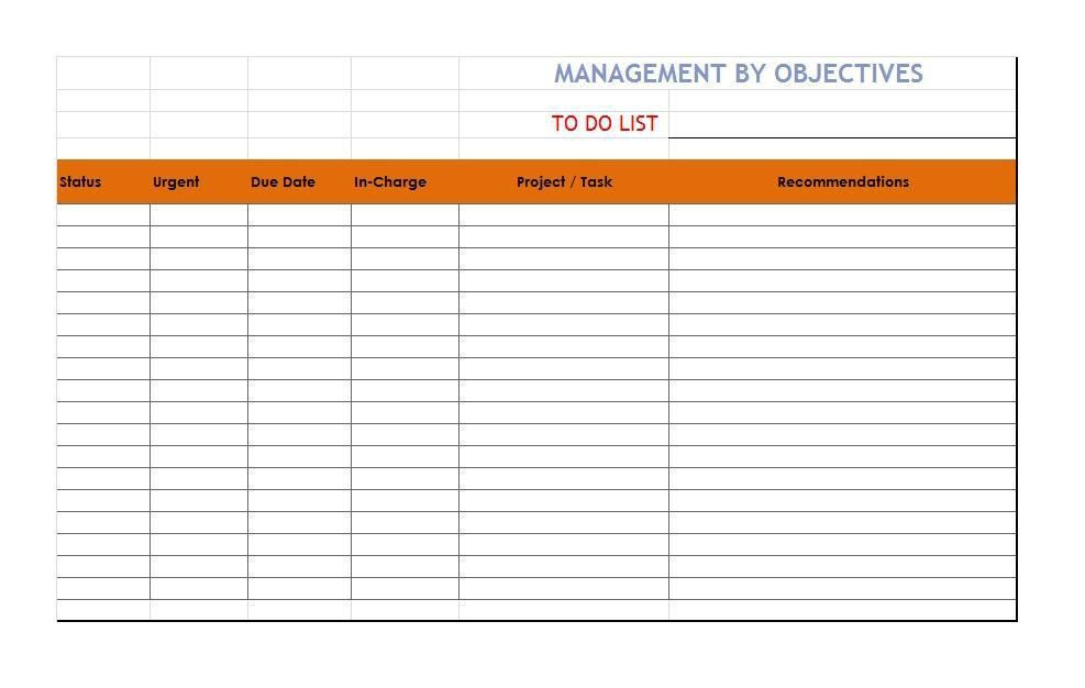 51 Free Printable To Do List & Checklist Templates (Excel + Word ...