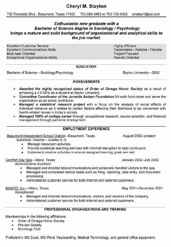 7+ substitute teacher resume examples | monthly bills template