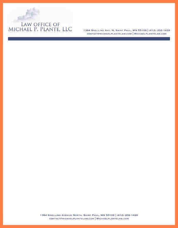 10+ attorney letterhead templates   Company Letterhead