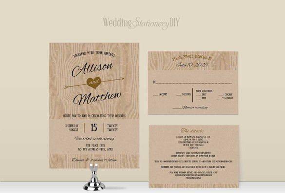 28+ Wedding Invitation Wording Templates – Free Sample, Example ...