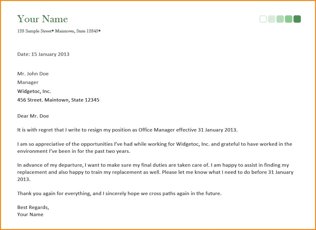 8+ best resignation letter email | receipts template
