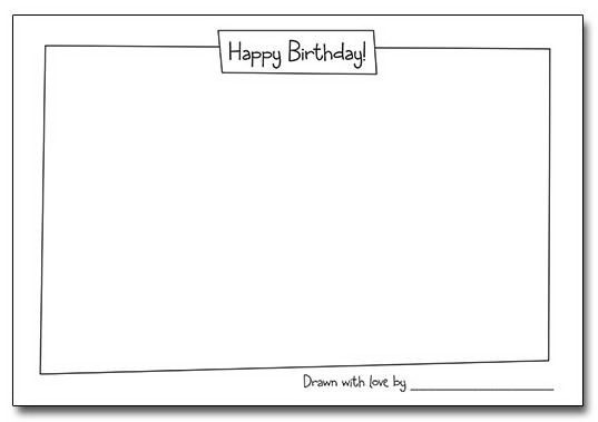 Blank Birthday Cards - lilbibby.Com