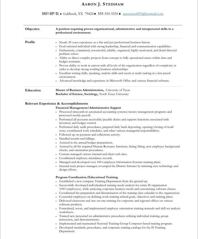 32 Job Winning Executive Administrative Assistant Resume Samples ...