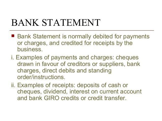 Ch 10 bank reconciliation