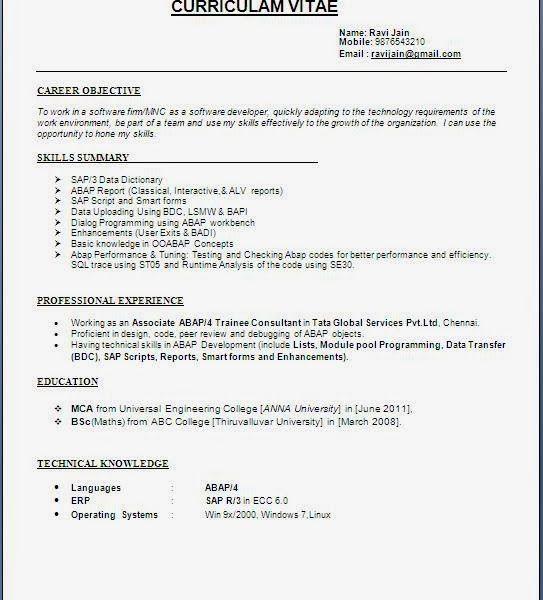 Stylish Design Ideas Best Resumes Format 9 Download Resume Write ...