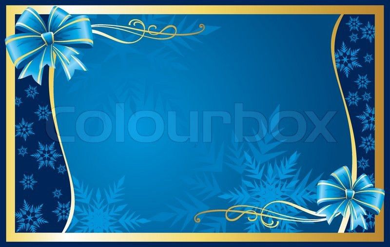 Christmas greeting card | Stock Vector | Colourbox