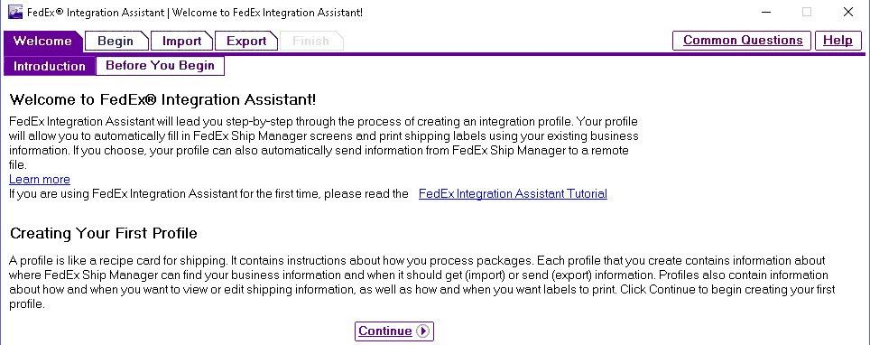 FedEx Shipping Workstation Installation for EDI/Packaging Manager ...
