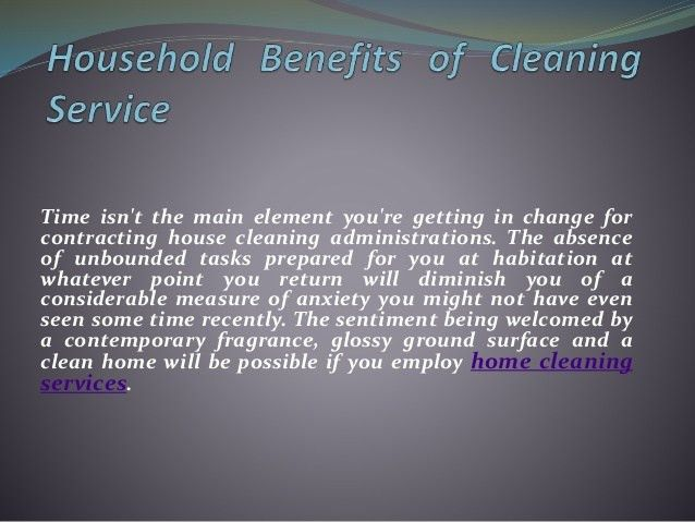Get the best out of professional house cleaning service