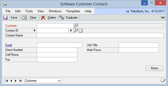 Software Template for Extender | eOne Solutions