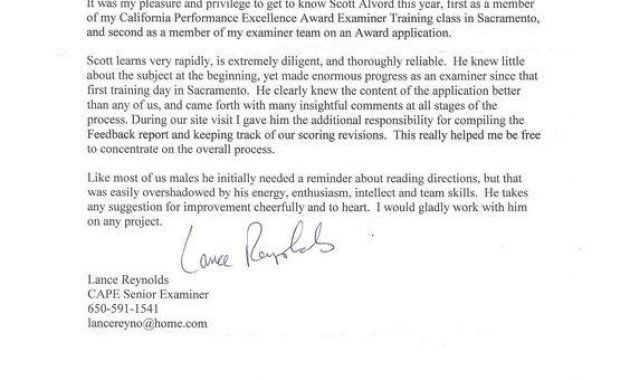 Letter Of Recommendation For Immigration Purposes Samples. 5+ with ...