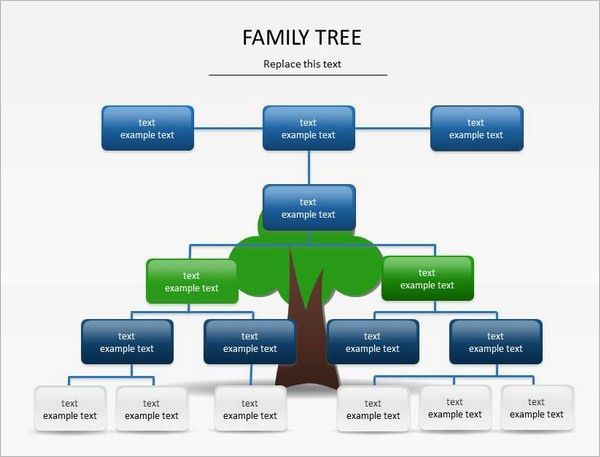 PowerPoint Family Tree Template – 10+ Free Sample, Example, Format ...