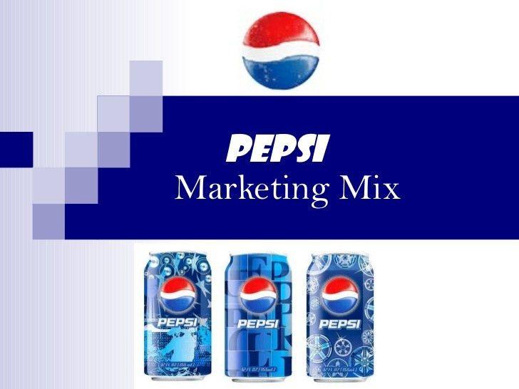 Pepsi marketing mix