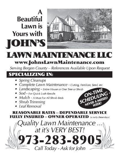John's Lawn Maintenance - Flyer Mailing - WaveTrain Intermedia