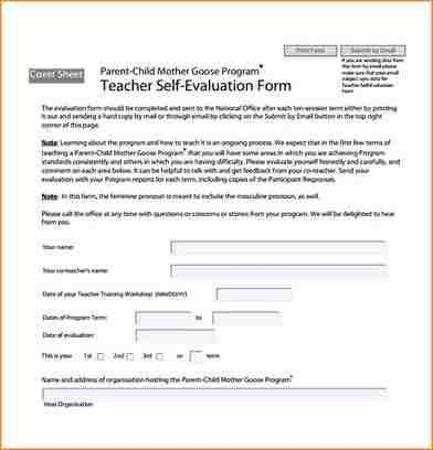 11+ employee self evaluation form | academic resume template