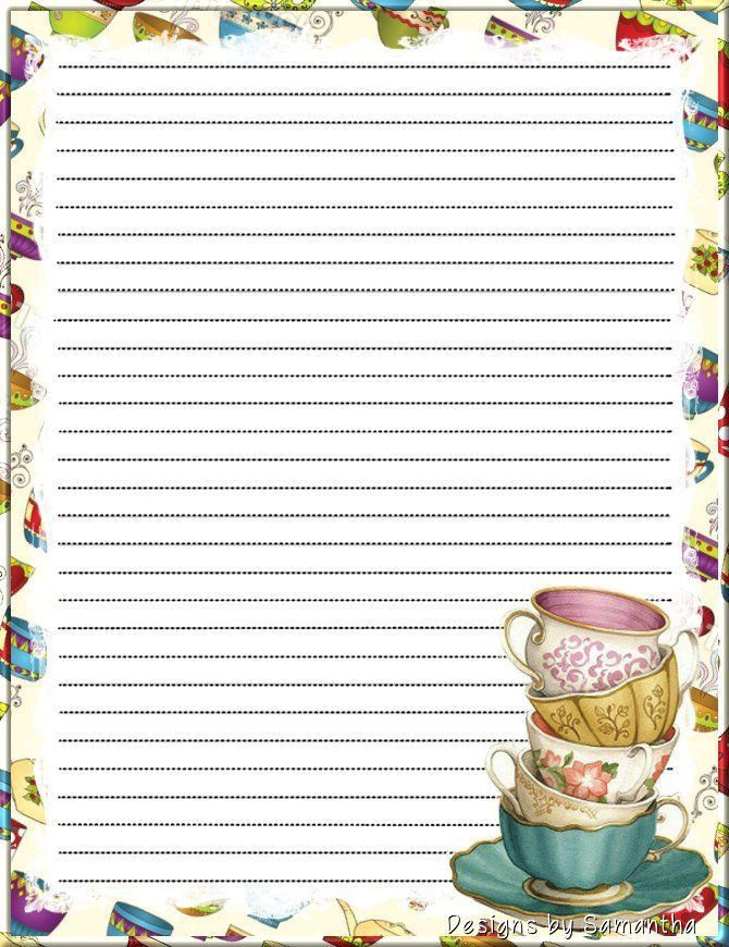 61 best Stationery printable images on Pinterest | Writing papers ...