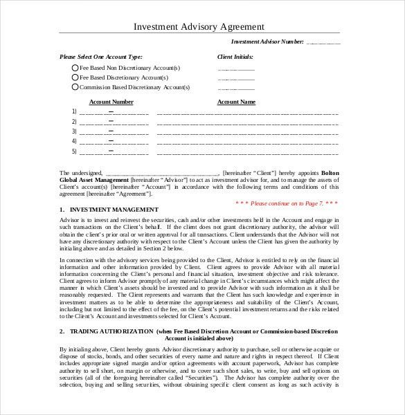 Investment Contract Agreement. Investors Agreement - Investor ...
