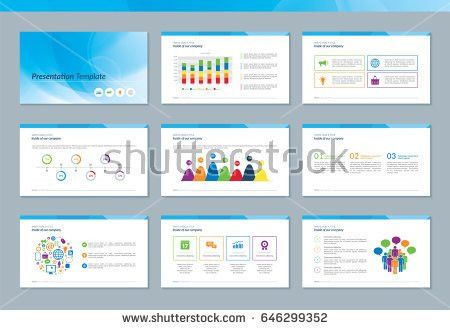 Elements Infographics Presentations Templates Annual Report Stock ...