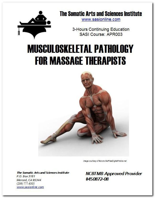 Online Massage Therapy CEUs |Musculoskeletal Pathology | The ...