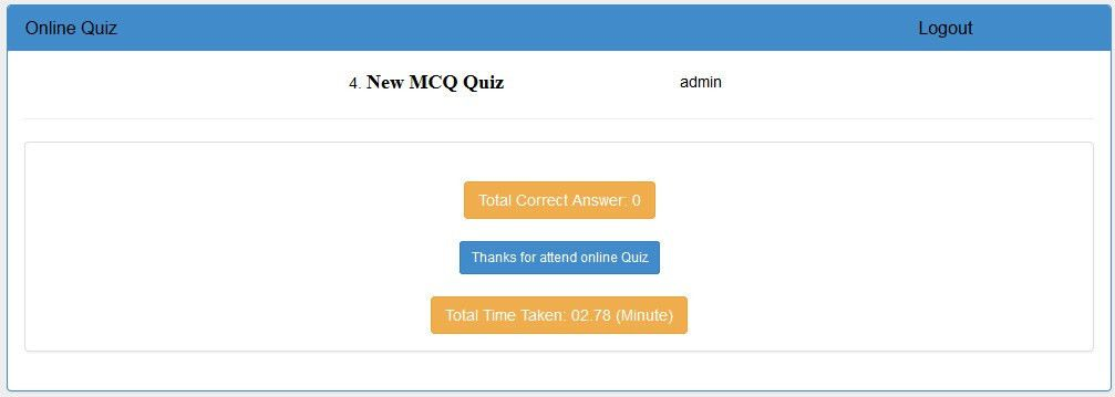 BootStrap Online Quiz - Asp.Net C# by dynamicsoft | CodeCanyon