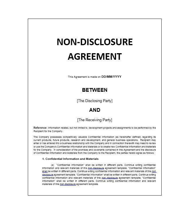 Vendor Confidentiality Agreement. 7+ Vendor Agreement | Army Memo ...