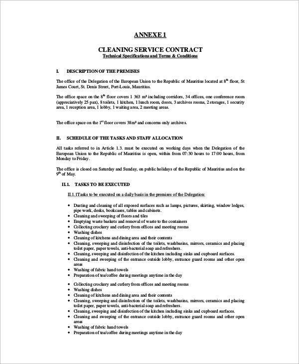 Sample Contract - 19+ Examples in PDF