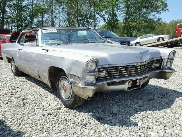Bill Of Sale 1967 Cadillac Deville For Sale in West Warren (MA ...
