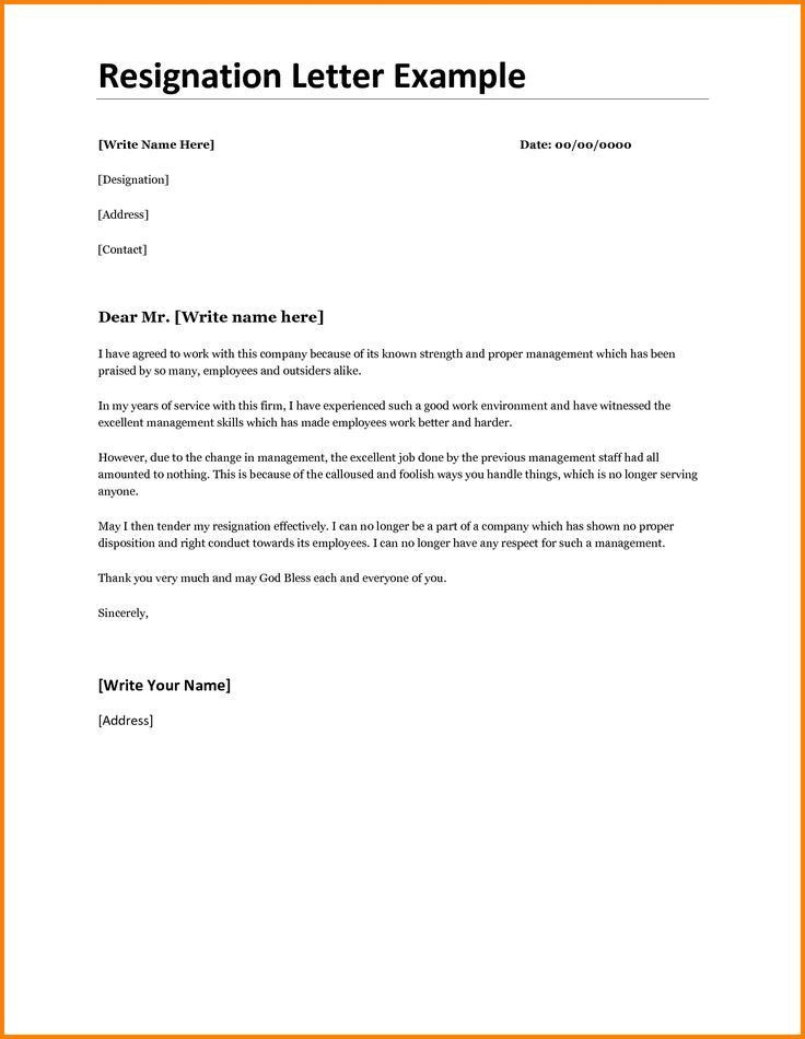 Best 25+ Resignation letter format ideas on Pinterest | Sample of ...