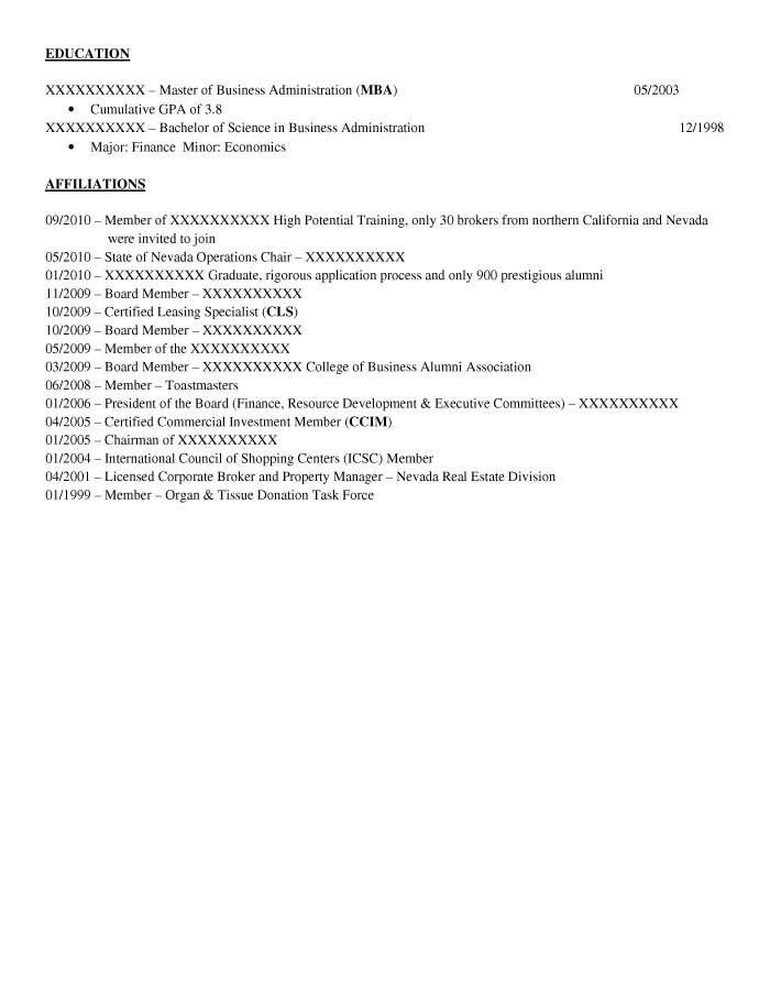 Executive Resume Samples - Resume Prime