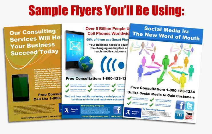 5 Best Images of Sample Marketing Flyers - Sample Business Flyers ...