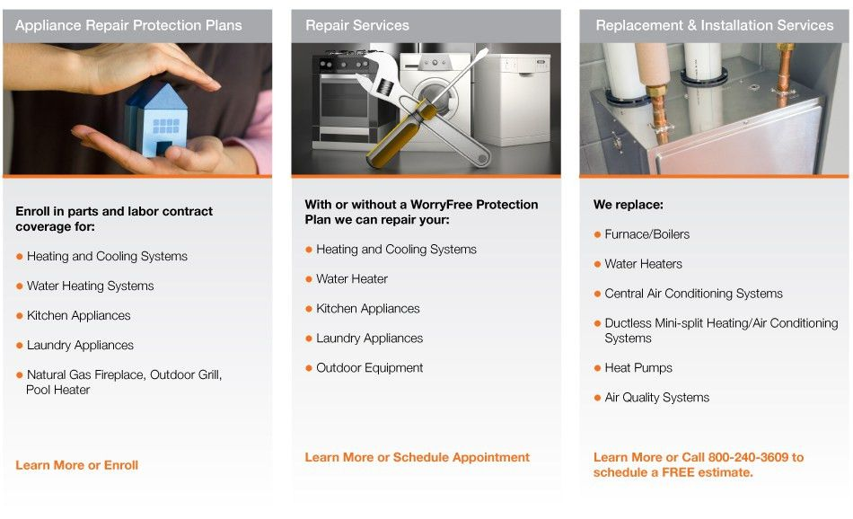 PSE&G WorryFree Appliance Protection Plans, Repair and Replacement ...