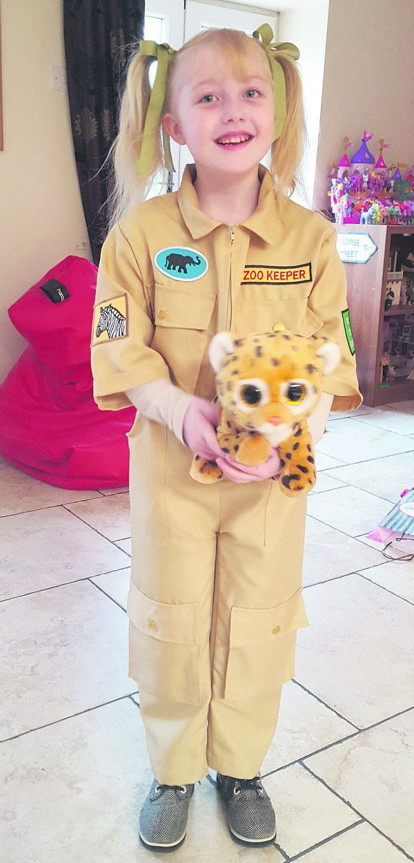 Saoirse's dreams of being a zookeeper come true when she goes to ...