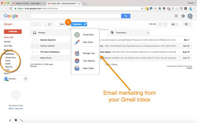 Newsletter Creator for Gmail - Flashissue - Chrome Web Store