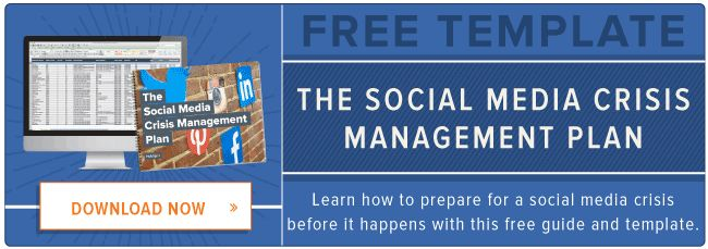 How to Create a Social Media Crisis Management Plan [Free Template]