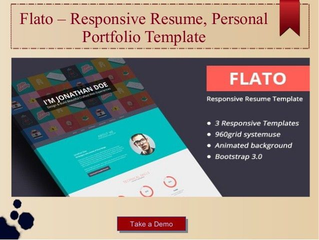 Best inspirational html business portfolio website templates