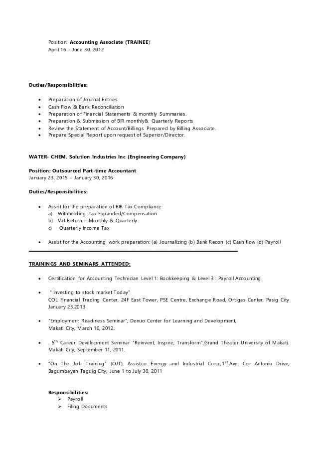 Telecommunications Technician Resume - Contegri.com