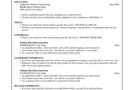 basic resume outline sample httpwwwresumecareerinfobasic ...